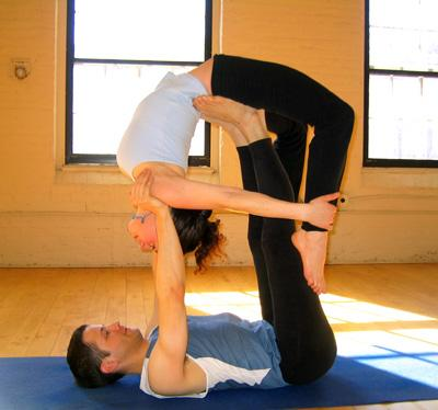 flying bow couples yoga poses