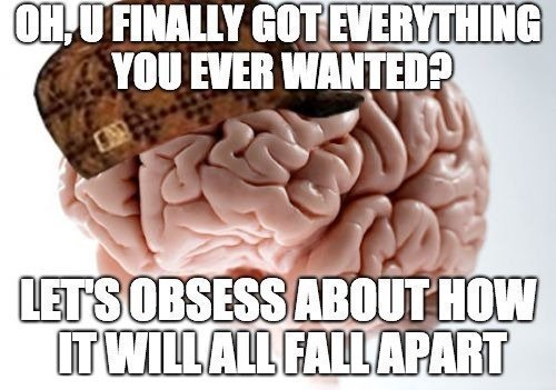 scumbag brain needs to meditate