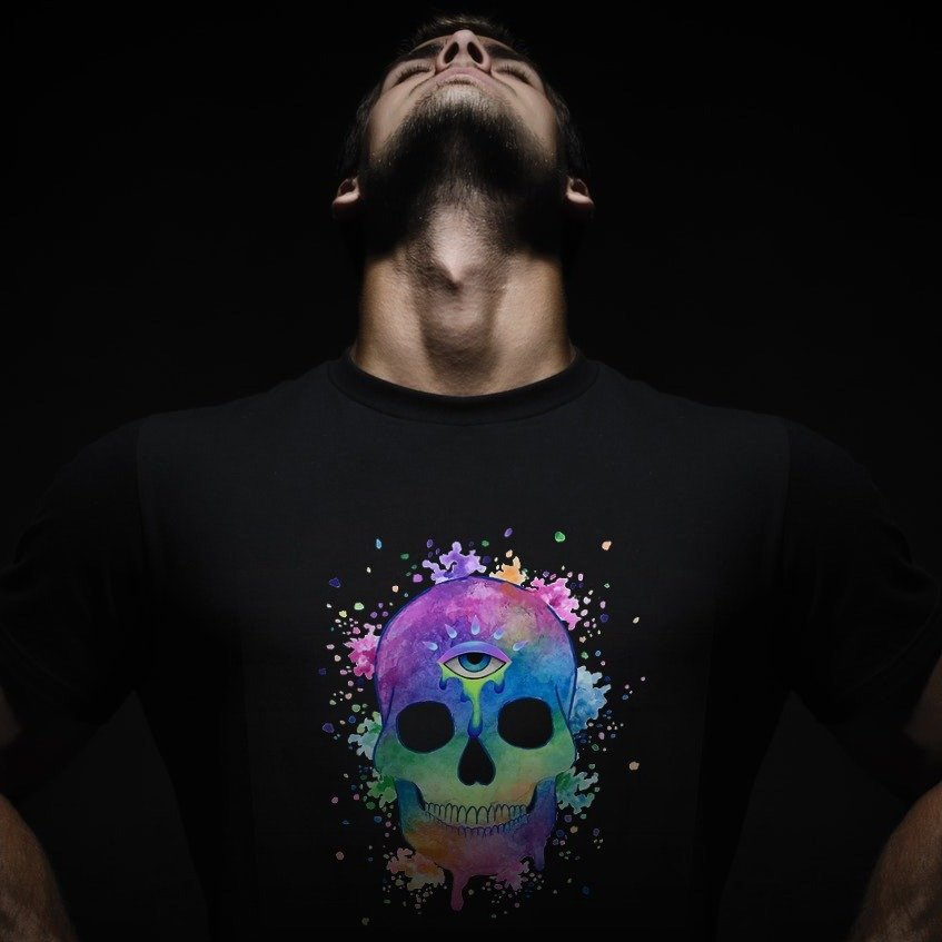 AWAKENED SKULL Unisex T-Shirt